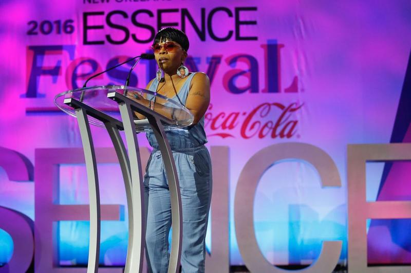 Lezley McSpadden addressed the ESSENCE Festival in New Orleans on July 2, 2016. She will receive her high school diploma from Jennings High School on Friday, May 26, 2017.