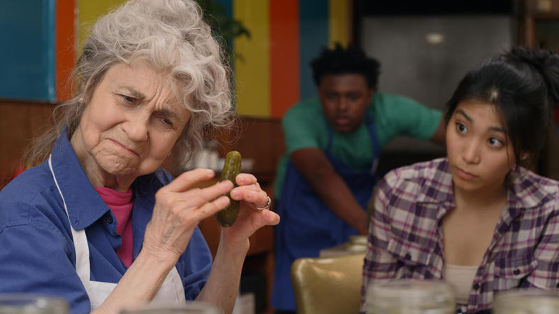 "Former St. Louisan Lynn Cohen plays Grandma in the film ""The Pickle Recipe."""