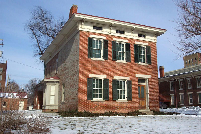 Dr. Richard Eells House in Quincy, Illinois