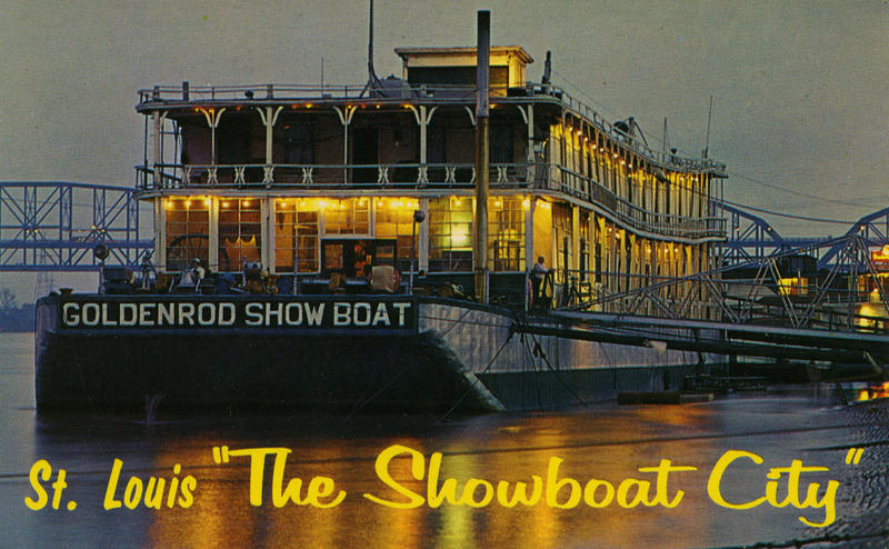 The Goldenrod Showboat is recounted in