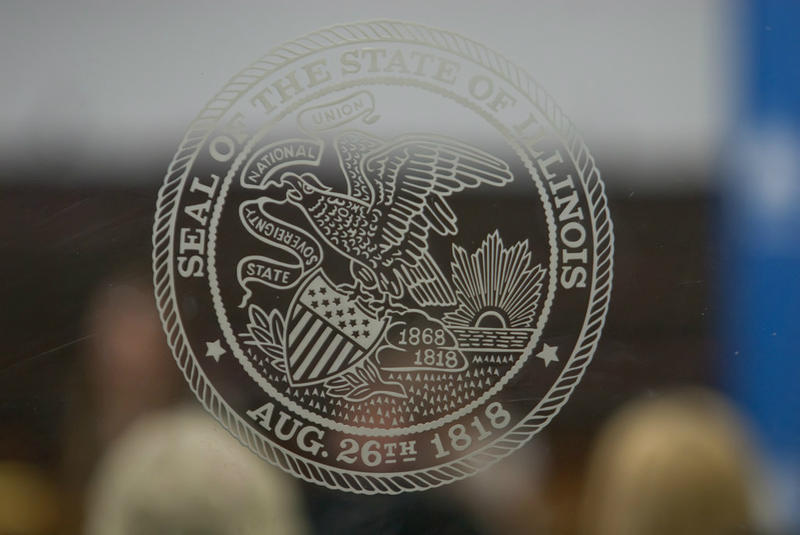 The Illinois state seal