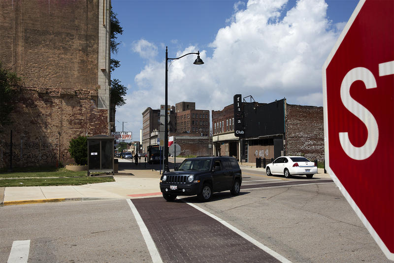 The intersection of Collinsville and St. Louis avenues in East St. Louis is where a mob of white rioters first gathered before they rampaged through the city, seeking out and killing black residents.