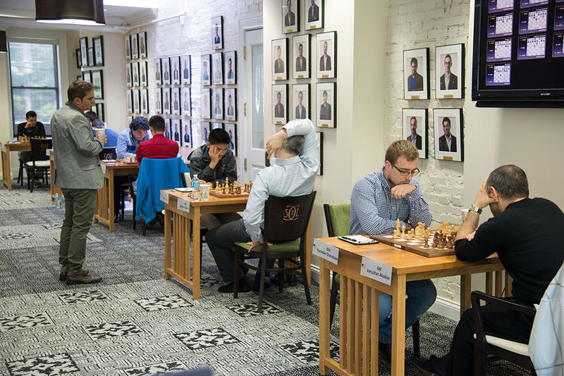 The tournament hall at the Spring Chess Classic May 16 -24, 2017.