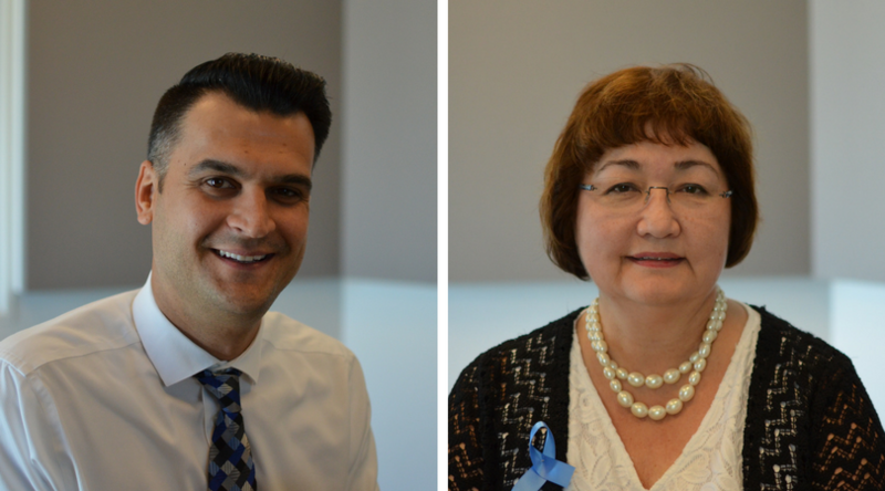 Nedim Ramic and Anna Crosslin discussed the issues refugees face today in light of World Refugee Day on June 20.