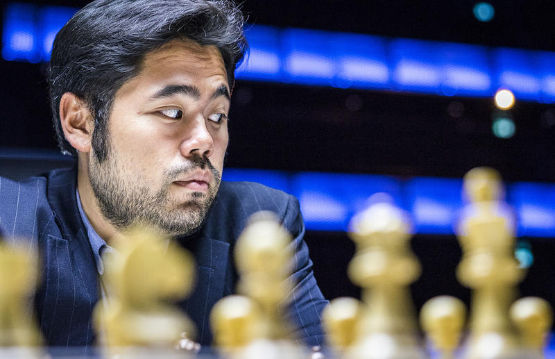 Grandmaster Hikiaru Nakamura at the Super GM event in Norway in June, 2017. Nakamura got second place in the event.