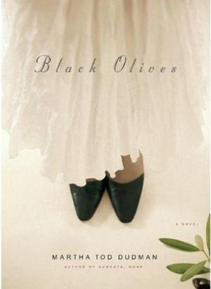 Book cover, Black Olives