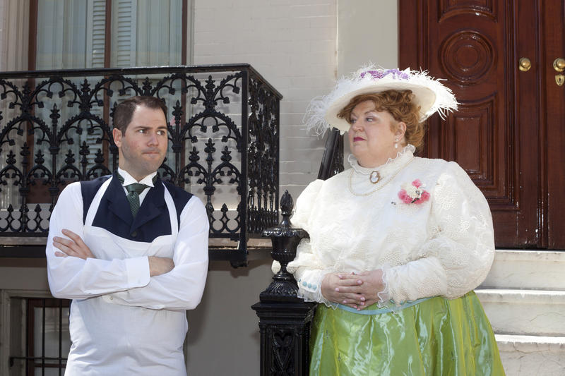 "Christine Brewer and David Walton in Union Avenue Opera's ""Albert Herring."""