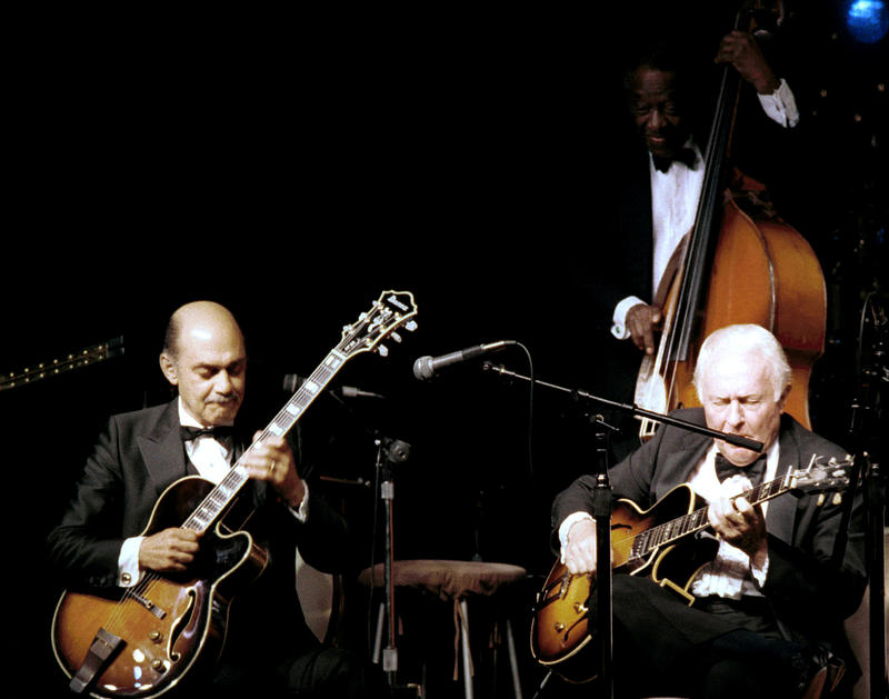 Joe Pass (heard on this show), Herb Ellis (1986)