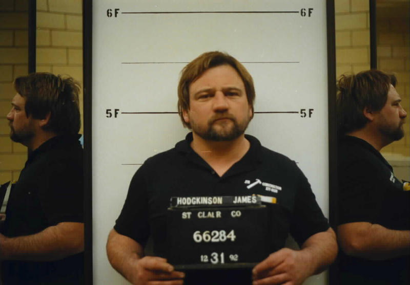 James T. Hodgkinson appears in a St. Clair County Sheriff's Department booking photo on Dec. 31, 1992.