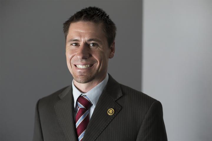 Sen. Andrew Koenig, R-Manchester, July 2017
