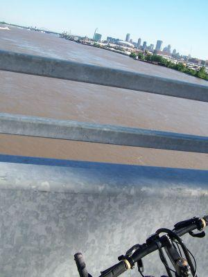 With the opening of the bike path on the McKinley Bridge, residents have another way to monitor water levels. So far, predictions indicate that the St. Louis area is not in danger. 2008 300 pals