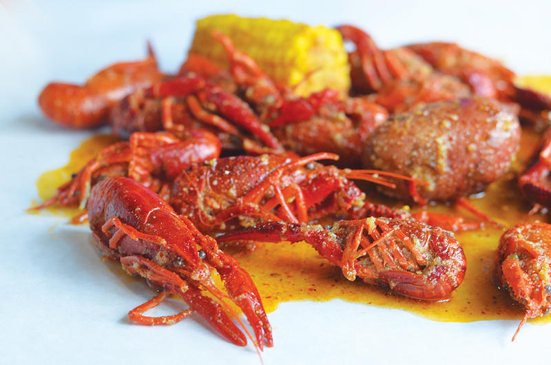 Sauce Magazine's Catherine Klene and Heather Hughes join Don Marsh to discuss the top restaurants to try during the month of August. Pictured: Mad Crab in University City.
