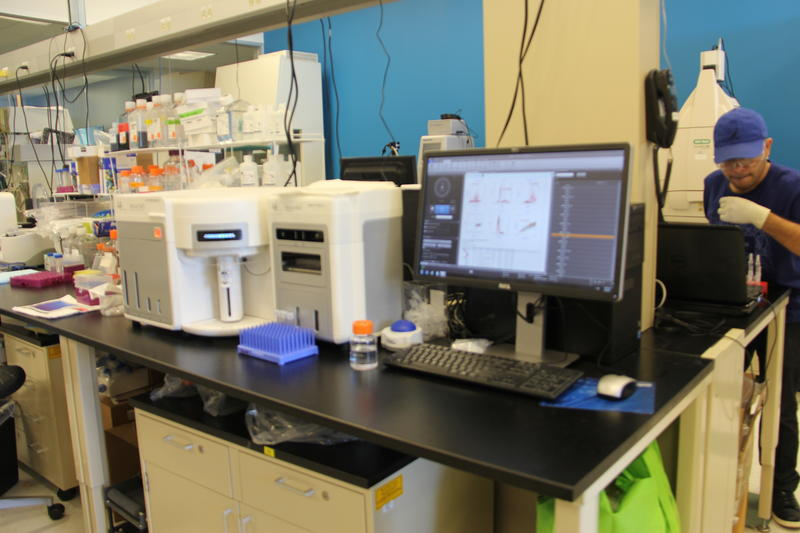 A laboratory at BioGenerator, the investment arm of BioSTL.