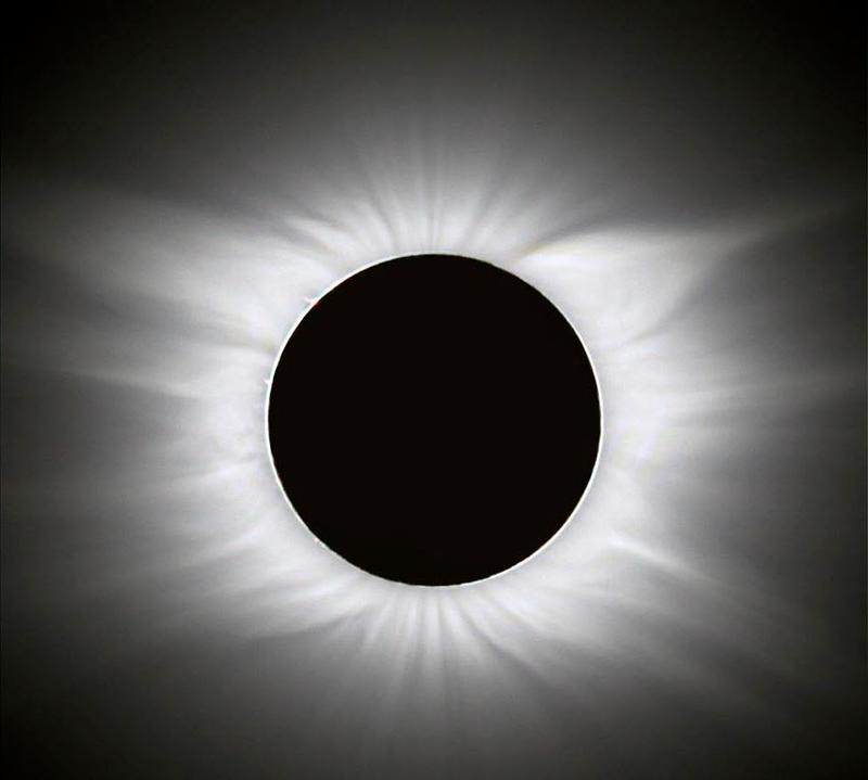 A total solar eclipse in 2006.