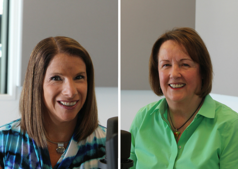Jamie Sentnor (L) and Deborah Phelps (R) joined host Don Marsh to talk about caring for seriously ill relatives and for the people who provide care.