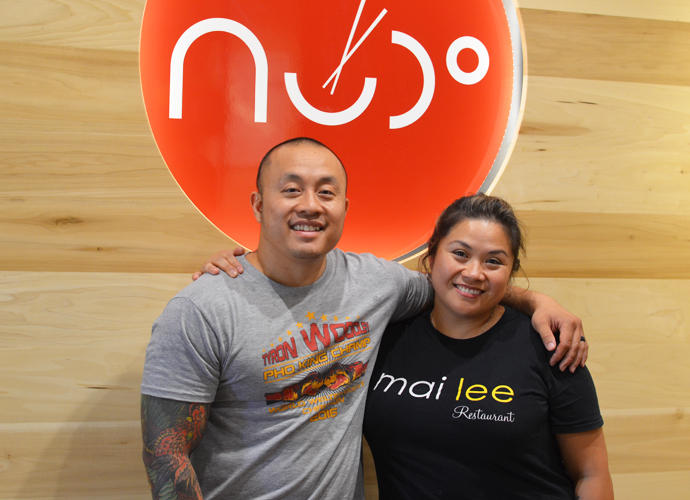 Nudo House co-owners Qui Tran and Marie-Anne Velasco