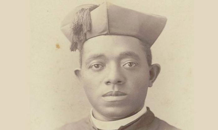 Augustus Tolton was born into slavery in Missouri in 1854 and is considered to have been the first African-American priest in the United States. He ministered in Quincy, Illinois.
