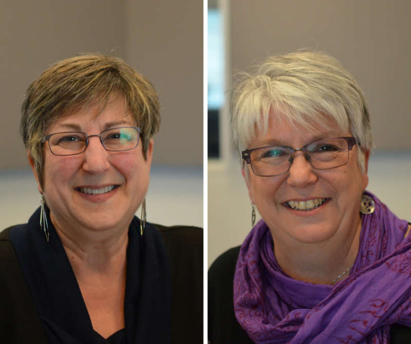 Marsha Coplon and Jeane Vogel are working to collect oral histories from Meacham Park residents.