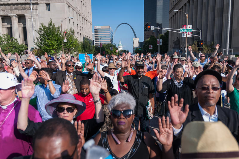A file photo of protests in the wake of the aquittal of Jason Stockley, from Sept. 22, 2017.