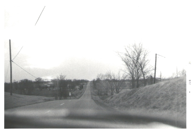 A view of Highway K in O'Fallon in 1970.