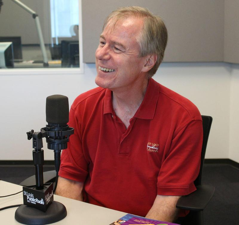 SLSO Music Director David Robertson in an interview with St. Louis Public Radio