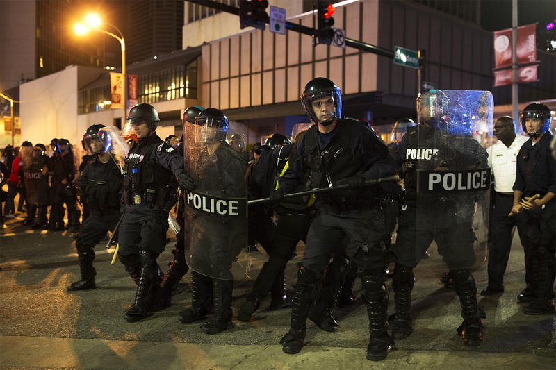 The U.S. Department of Justice is investigating whether the St. Louis police violated the rights of protesters after the verdict in the Jason Stockley case.