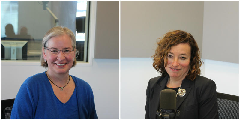 Lenita Newberg (L) and Dr. Barbara Milrod joined host Don Marsh to talk about anxiety in children.