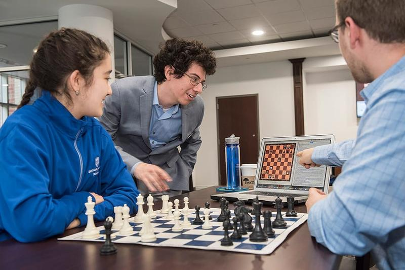 Members of the Saint Louis University Chess Team