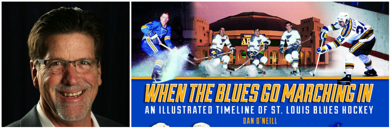 Dan O'Neill is the author of a new book about the history of the St. Louis Blues hockey team.