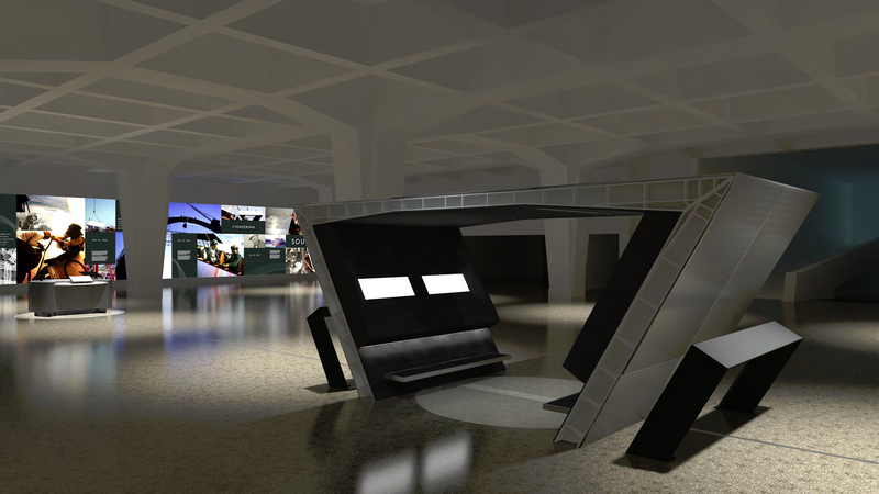 The Keystone Exhibit will include a replica of the observation deck with a live-stream video from atop the 360-foot Arch.