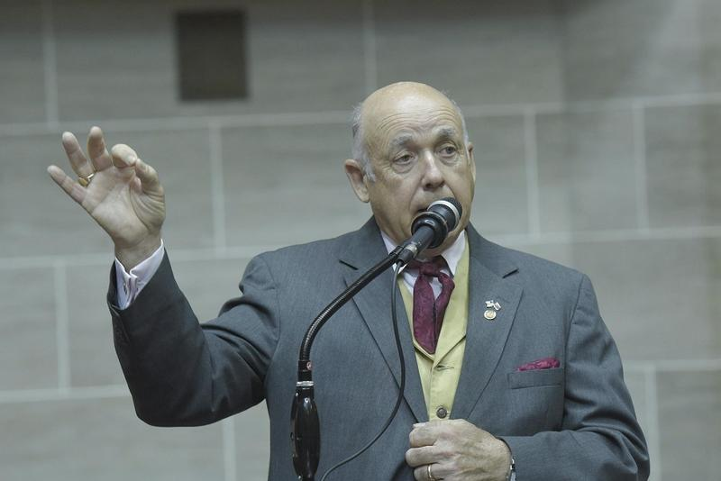 "An ethics complaint has been filed against Rep. Warren Love, R-Osceola, for a Facebook post in which he said the person or persons who vandalized a Confederate monument in Springfield should be ""hung from a tall tree with a long rope."""