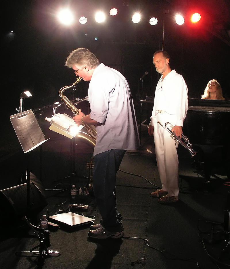 Larry Smith, Randy Holmes and Carolbeth True-2003