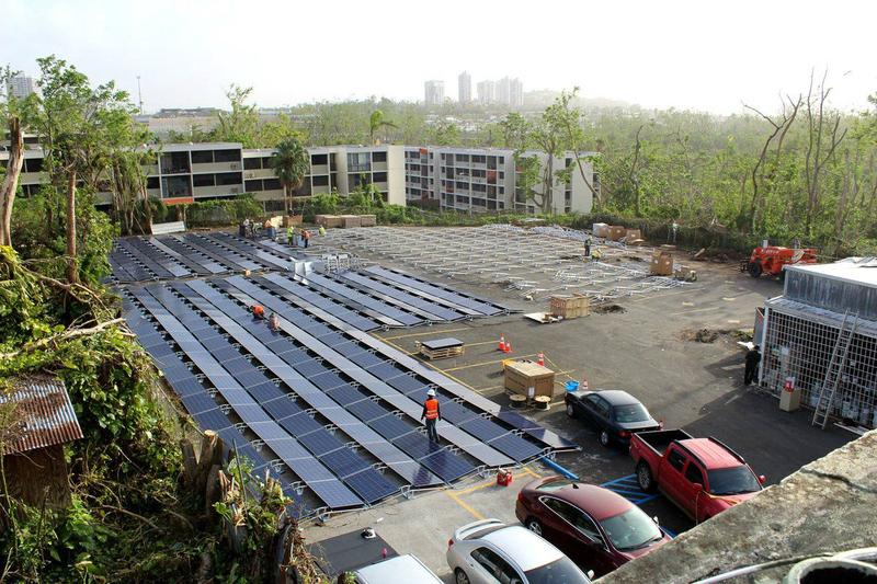 Tesla installed a 200-kilowatt solar array to power the Hospital del Niño in Puerto Rico.