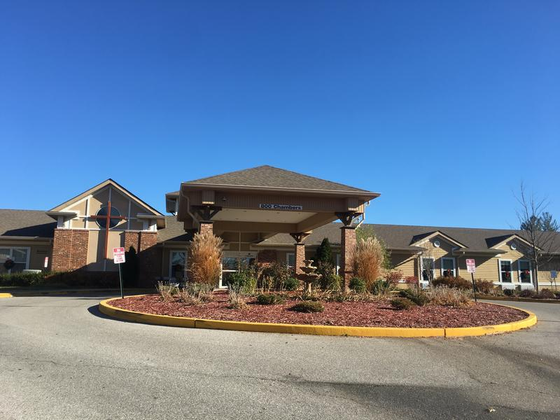 The Christian Care Home at 800 Chambers Road in Ferguson. A union representing about 100 employees is planning for a strike to begin on Dec. 1, 2017.