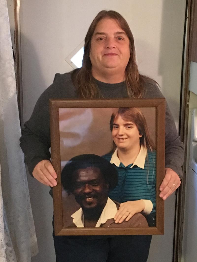 Laurie Ootey is pictured with her husband, Donald Ootey.  Donald Ootey died in 2015.