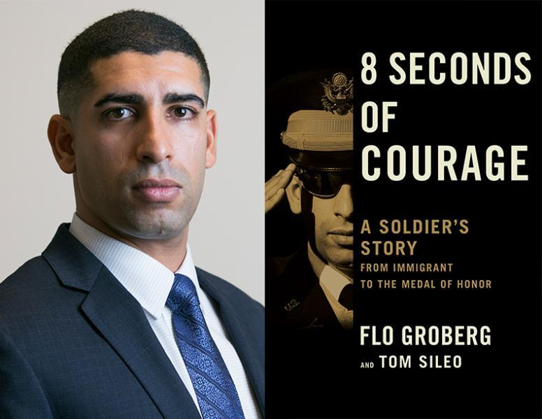 Flo Groberg was awarded the Medal of Honor in 2015 and is the author of the new book,