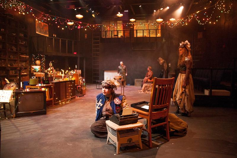 Kristin Cassidy spent weeks getting this set ready for the encore production of Remnant.
