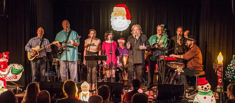 St. Louis band Rough Shop will continue their annual 'Holiday Extravagaza' and play Christmas music.