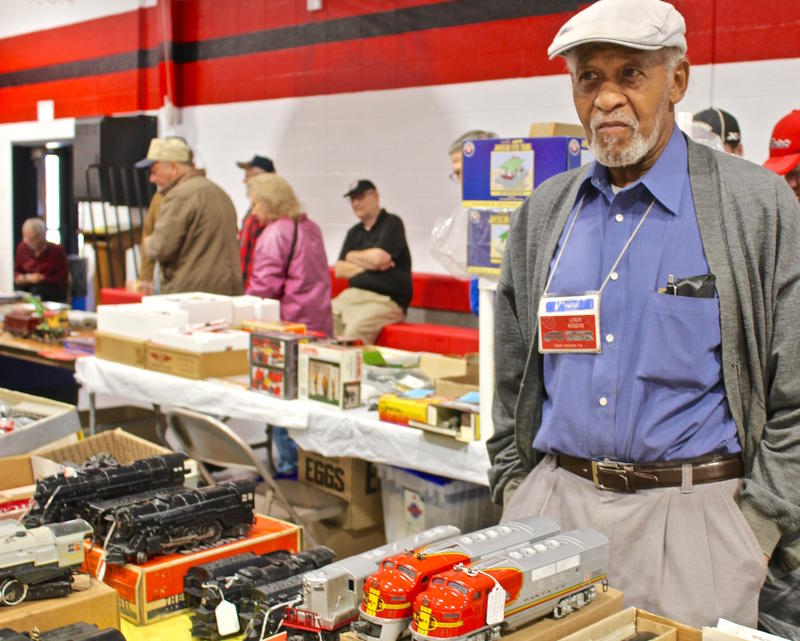 Model train clubs sponsor holiday displays and train shows. Leroy Rogers, 84, of East St. Louis sold vintage trains at a show and food drive in December sponsored by the Ozark division of the national Train Collectors Association in December 2017