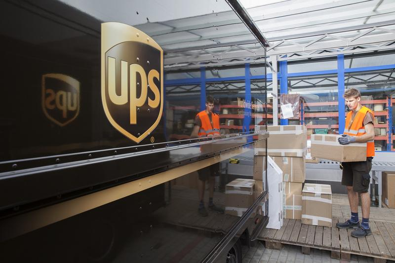 UPS estimates it will handle about 750 million deliveries between Thanksgiving and New Year's Eve. That's up five percent from 2016.
