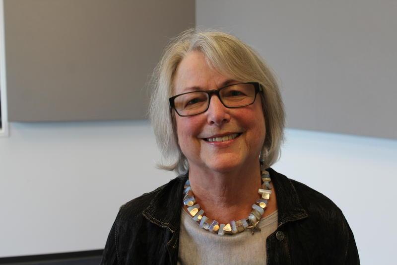 Award-winning filmmaker and media-artist Jill Evans Petzall talks about her interactive art exhibit at the Sheldon Art Galleries.