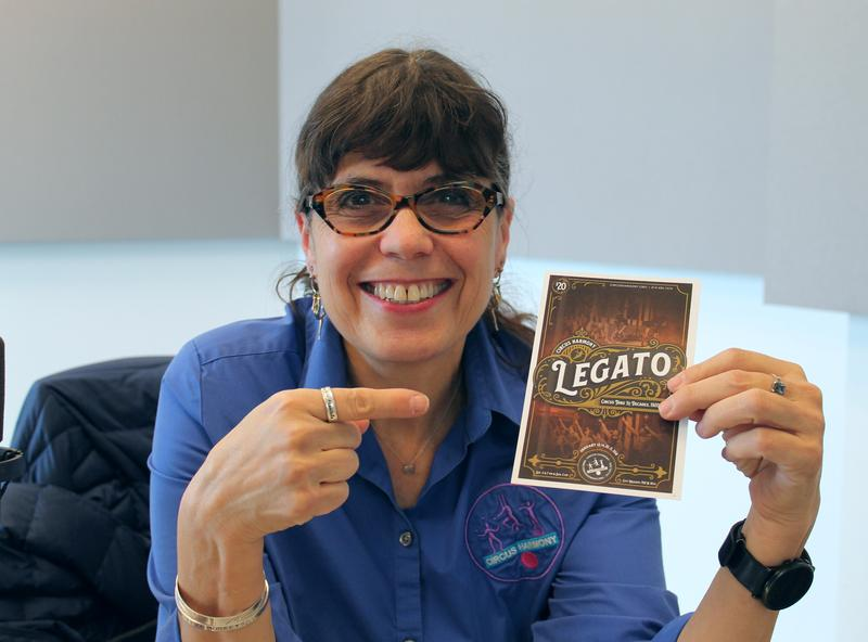 "Circus Harmony artistic and executive director Jessica Hentoff talks about their production, ""Legato."""