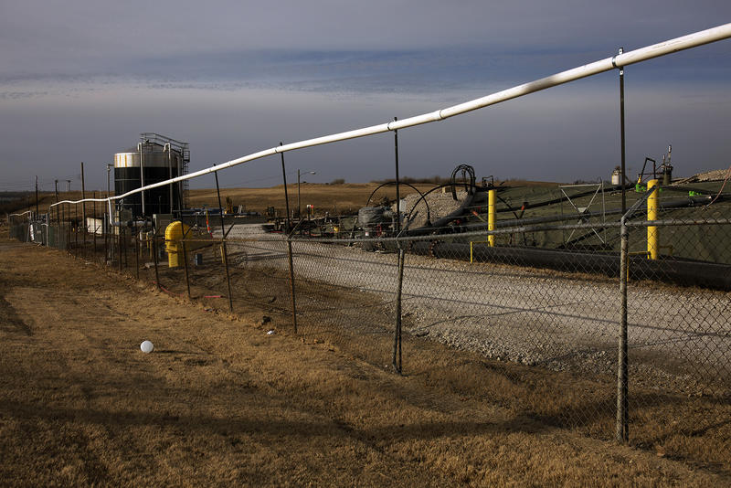 The Bridgeton Landfill, pictured here, sits adjacent to the West Lake Landfill.