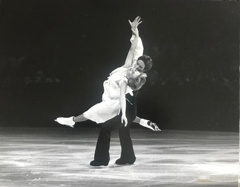 Clayton resident Stacey Smith and her Olympic ice dance partner John Summers. The two finished ninth at the 1980 Winter Olympics in Lake Placid.