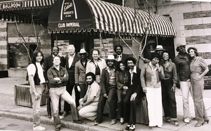 This photo of Club Imperial in the 1980s includes George Edick Jr., on the far left, his father third from the left on the back row and Robbie Montgomery, one of Ike and Tina Turner's backup singers, on the far right.