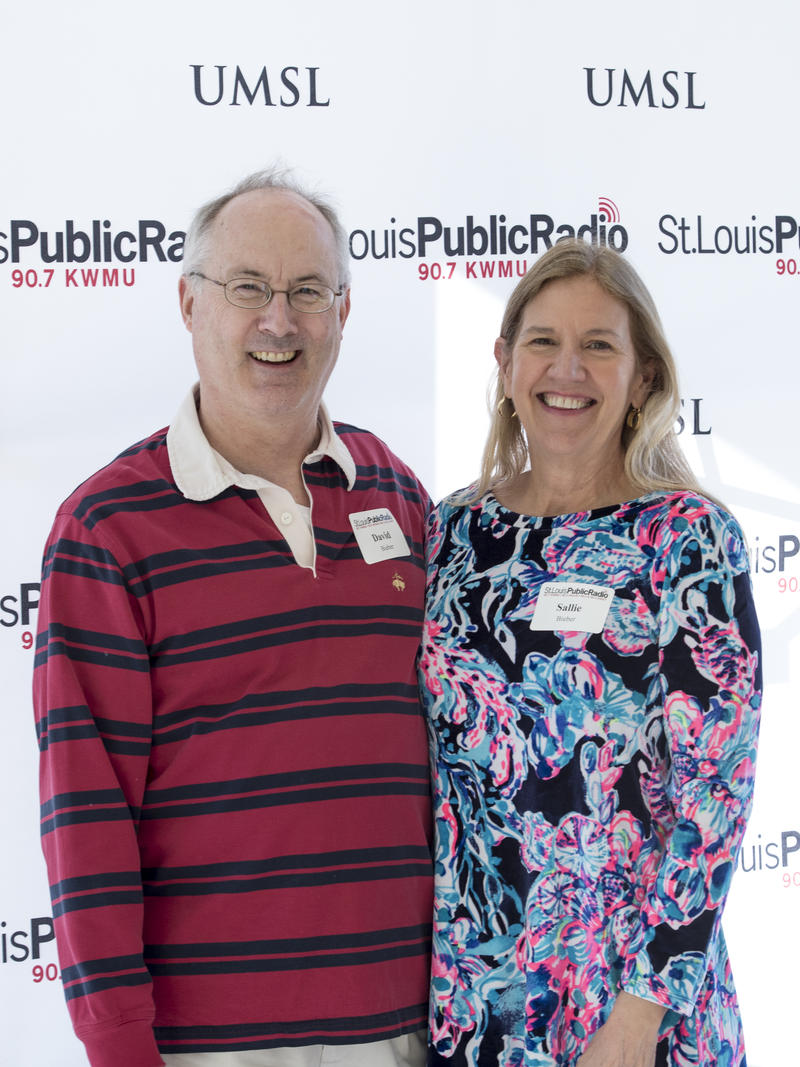 David and Sallie Bieber, 20 Year Members of St. Louis Public Radio, attended the event on February 25, 2018.