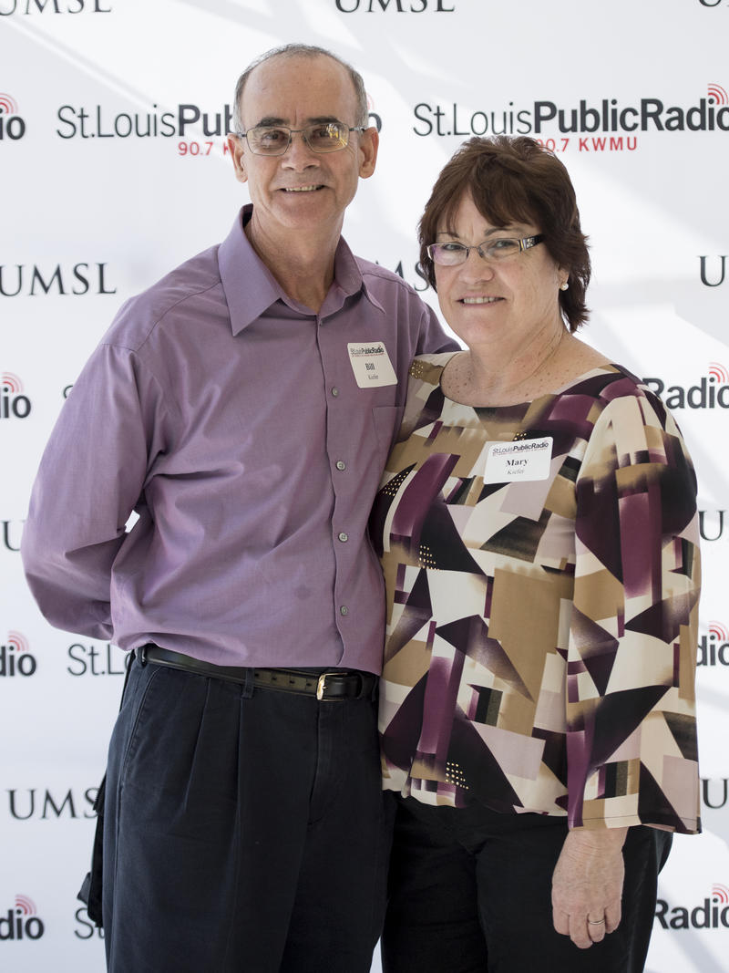 Bill and Mary Kiefer attended the 20 Year Member event at St. Louis Public Radio. The event was held on Sunday, Feburary 25, 2018.