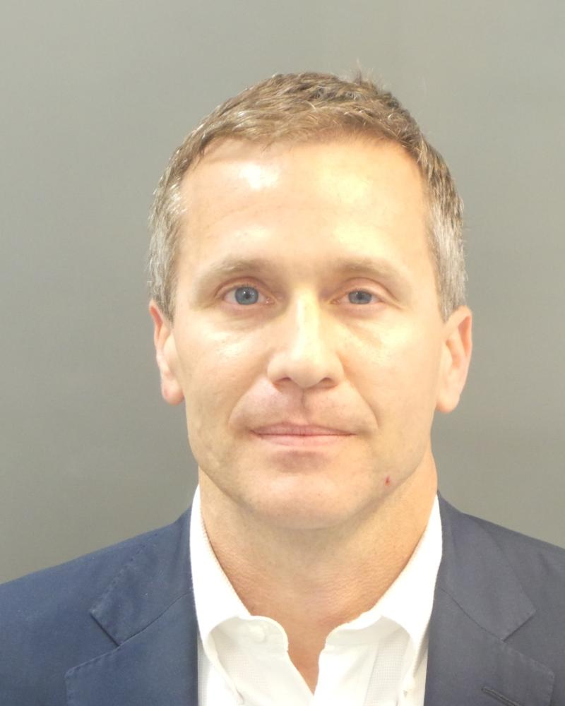 Gov. Greitens' booking photo from Feb. 22
