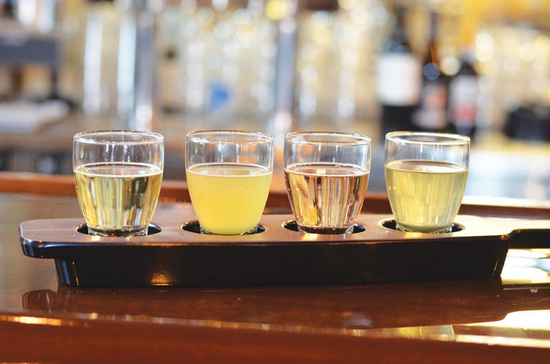 Cider flights are among the offerings on tap at Brick River Cider Co., one of four must-try places on Sauce Magazine's latest Hit List.
