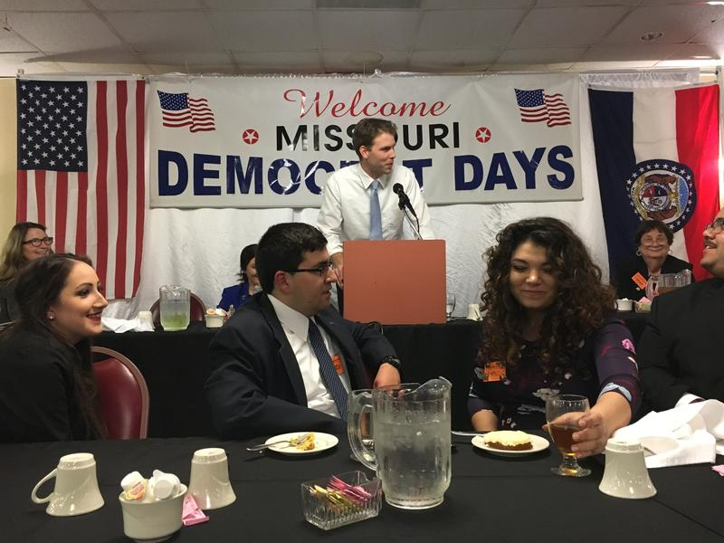 Missouri Democratic Party Chairman Stephen Webber was the keynote speaker at the 2018 Democrat Days in Hannibal.
